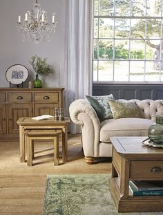 To The Manor Born... by Kimberly Duran | The Oak Furniture Land Blog