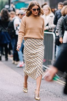 17 Looks That Make Olivia Palermo the Best-Dressed at Fashion Week - at Topshop. from InStyle.com