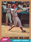 For Sale: 1981 Topps Johnny Bench Cincinnati Reds #201 Baseball Card - See More At http://sprtz.us/RedsEBay