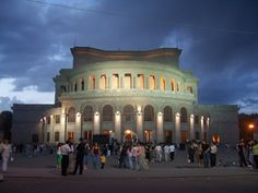 Opera House - Yerevan - Armenia - Built in 1933, architect Alexander Tamanian