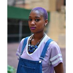 Black Girls Hairstyles, Hairstyles Haircuts, Pink Purple Hair, Hair Colours, Colorful Hair, High Voltage, Hair Dye, Color Theory, Ultra Violet