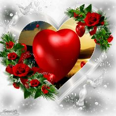 To my dear Joe ❤miss you so much 💘💔 Beautiful Love Pictures, Beautiful Gif, Beautiful Roses, Images Gif, Rose Images, Hearts And Roses, Red Roses, Good Morning Dear Friend, Animated Heart