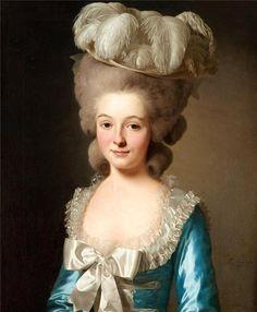 Portrait of a French Lady, Alexander Roslin