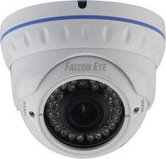 Купольная камера Falcon Eye FE SDV720/30M FE SDV720/30M Уличная купольная видеокамера Falcon FE SDV720/30M, матрица 1/3 Sony EXMOR с разрешающей способностью 1000 ТВЛ. Оснащена вариофокальным объективом f=2.8-12 (ICR) имеет чувствительность 0.001 люкс. Дальность ИК подсветки рассчитана на 30 метров, IP66. Есть режим День-ночь. OSD меню. Цвет белый. Грозозащита. Температурный режим: - 40 + 50 градусов.Технические характеристики:Единица измерения: 1 штГабариты (мм): 119x119x100Тип матрицы…