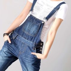 This completely denim overalls dress with two straps  and a large bag is extra large with a price of five hundred and thirty dollars