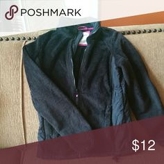 Black fuzzy winter jacket Aeropostale  soft fuzzy black jacket Aeropostale Jackets & Coats