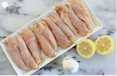 Lemon Garlic Dump Chicken...It's What's For Dinner! - One Good Thing by Jillee