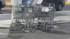 Somehow there was the succinct feeling that these carts were talking about me.