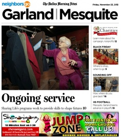 11/23 Cover Story: Sharing Life Community Life Outreach in Mesquite gets respect by showing respect to clients - something current executive director Teresa Jackson has direct experience with.