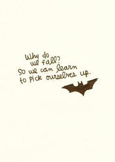 A Batman quote.