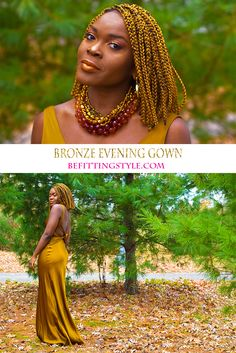 Bronze Evening Gown | The Orchid Foundation