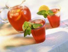 Delicious Cranberry-Lime Punch | DianasDesserts.com