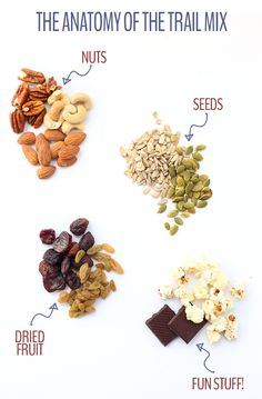 build a better trail mix with raw nuts and seeds, good chocolates, homemade popcorn, and dried fruits sans added sugar
