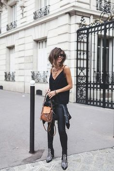 Where to stay in Paris // Hotel Adele & Jules – Fashion Outfits Casual Chic Outfits, Simple Outfits, All Black Fashion, Look Fashion, Autumn Fashion, Fashion Outfits, Cocktail Outfit, Paris Chic, Edgy Chic