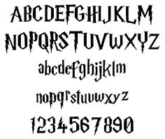 Before I've posted about Harry Potter Graffiti , Now i want to show about Harry Potter Fonts . harry potter font has a specific characteris. Harry Potter Font Free, Theme Harry Potter, Harry Potter Style, Harry Potter Birthday, Harry Potter Books, Harry Potter Alphabet, Harry Potter Nursery, Harry Potter Classroom, Harry Potter Schrift