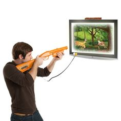 """""""If you have kids who like hunting, then they'll be sure to like this game. It's tough to beat but worth the challenge. Plus it plugs right into your TV so there's no installation required."""""""