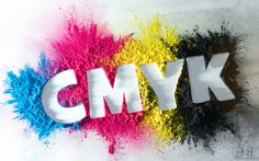 I really like how the color represent something (CMYK) in the photo and that they are shown uniquely through an effect.