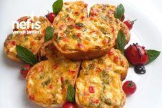 Peynirli Ekmek Dilimleri - Pınar Kaya - Nefis Yemek Tarifleri