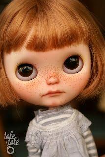 Tolé Tolé dolls: Aria, new Tolé Tolé doll for adoption - Aria, nueva Tolé Tolé custom en adopción
