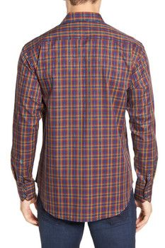 Robert Graham Lando Plaid Long Sleeve Classic Fit Shirt