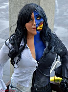 Femme Two Face Cosplay http://geekxgirls.com/article.php?ID=4613