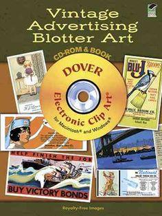 Vintage Advertising Blotter Art