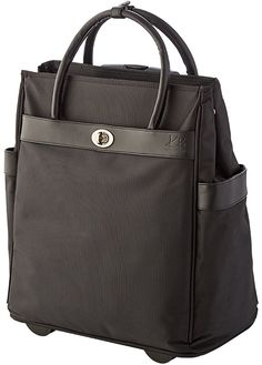 Rae Carry-On Rolling Trolley Bag -- Don't get left behind, see this great product : Travel luggage Travel Tote, Travel Luggage, Trolley Bags, Carry On, Stuff To Buy, Black, Fashion, Moda, Travel Purse