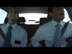 Missionaries singing A Child's Prayer in the car-This just makes me happy