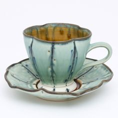 cup and saucer by Jeff klechner.