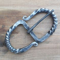 Forged in Time - Hand Forged Belt Buckle