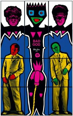 Bad God Gilbert & George, Korean Art, Land Art, North Africa, Light Art, New Art, Contemporary Art, Street Art, Weird