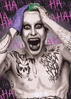 Der Joker und Harley Quinn-Satz von 2 von TomsySprayArt auf Etsy