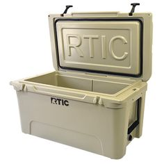 RTIC 65 - Tan - Half the Price of Yeti and Holds More Ice...Basically a Mobile Freezer