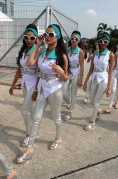 Photos: Grid Girls 2012 Malaysian GP | 2013 F1 | Formula 1 - Latest F1 News, Live Updates, Results, Standings, Interviews