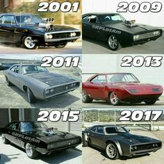 Dom's Chargers - Pick one ? Dodge Muscle Cars, Custom Muscle Cars, Custom Cars, Fast And Furious, Doms Charger, Rich Cars, Super Fast Cars, Car Jokes, Bmw Autos