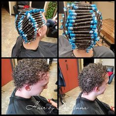 Guy perm during and after | cgwc86 | Flickr Men Perm, Perm Rods, Permed Hairstyles, Curlers, Dreadlocks, Photos, Guys, Hair Styles, Beauty