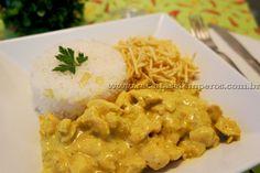 Frango indiano ao Curry | Receitas e Temperos