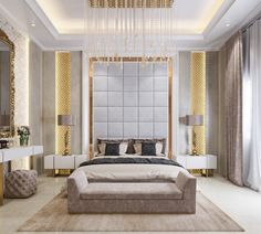 Roohome.com - Do you want to have a bedroom design looks awesome with the decoration in it? Calm down guys, we will help you to realize it right now because we have the best elegant bedroom design ideas with perfect organization and awesome decoration inside. The designer explains the detail of the decoration in ...