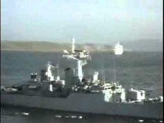 Hundimiento de hms antolope en la guerra de malvinas. Ceiling Lights, Falklands War, Horror, Youtube, War, Vestidos, World History, Argentina, Dios