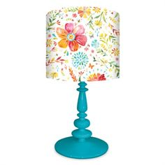 Rosenberry Rooms has everything imaginable for your child's room! Share the news and get $20 Off your purchase! (*Minimum purchase required.) Posies Lamp #rosenberryrooms