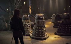 Doctor Who Re-Review: Season 7 Episode 1 - Asylum of The Daleks