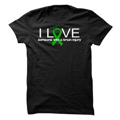 """Brain Injury ⊱ Love Awareness TeePlease help us in honoring those affected by Brain Injury and spreading awareness. Buying this shirt will show you support the Brain Injury cause.""""Brain Injury"""" """"TBI"""" """"ABI"""" """"Traumatic Brain Injury"""" """"Acquired Brain Injury"""""""