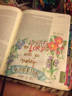 Bible 2, Illustrated Faith, God First, Judges, Christian Art, Prayers, Bible Journal, Art Journaling, Drawings