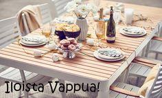 Iloista Vappuviikonloppua! #sisustusidea #sisustaminen #sisustusinspiraatio #askohuonekalut #sisustusidea #sisustusideat #sisustus #vappu #viikonloppu #munkki #sima #juhla