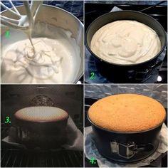 Бисквит классический. И снова он - король всех бисквитов, основа - основ, начало - начал!   Школа красоты Home Bakery, Sweet Pie, Sponge Cake, Superfoods, Bread Recipes, Tart, Icing, Peanut Butter, Recipies