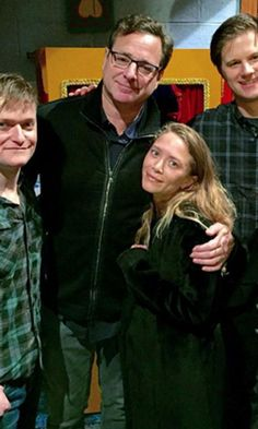 Mary-Kate Olsen Has a Sweet Reunion With Her Full House Dad on Broadway