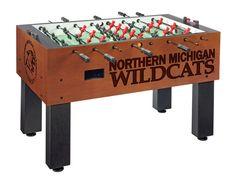 Northern Michigan Wildcats Foosball Table