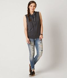 Gilded Intent Mock Neck Top - Women's Shirts/Blouses   Buckle