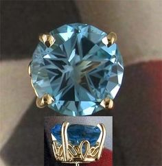 Texas blue topaz was designated the official state gemstone in 1969 and in 1977 the lonestar cut was also recognized as the official state gemstone cut. The Lone Star Cut, designed by two native Texans, is a special gemstone cut that reflects a five-pointed star (the lone star of Texas).