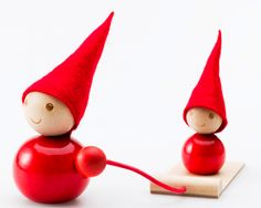 Buy red wooden Christmas elf (tonttu) decorations for your table, mantelpiece, shelf, bookcase, piano or desk at work online. Swedish Christmas Decorations, Scandi Christmas, Danish Christmas, Christmas Makes, Christmas Holidays, Christmas Stuff, Holiday Decorations, Scandinavian Holidays, Diy Inspiration